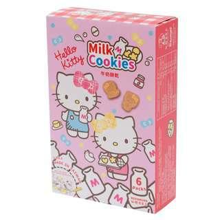 Red Sakura Hello Kitty Milk Cookies Friend