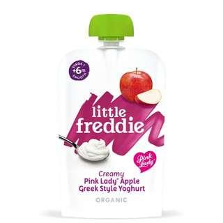 Little Freddie Creamy Pink Lady Apple Greek Style Yoghurt