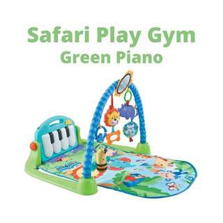 Shears Play Gym Safari Piano Play Gym SPG9690 BLUE
