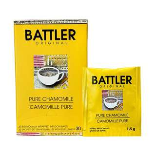 Battler Pure Chamomile -  20 Individually Wrapped Tea Bags