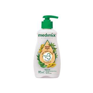 MEDIMIX AYURVEDIC HAND WASH TURMERIC NEEM ALOEVERA