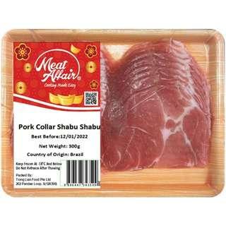 Meat Affair Pork Collar Shabu Shabu
