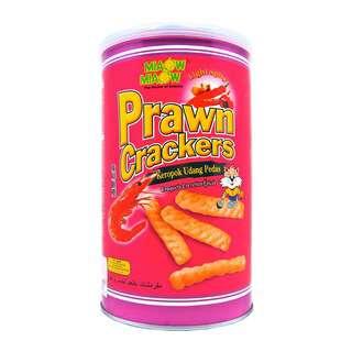 Miaow Miaow Light Spicy Prawn Crackers