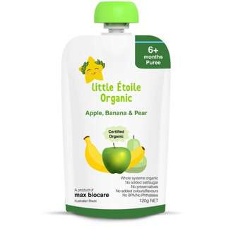 Little Etoile Organic Apple Banana and Pear