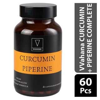 Vahana CURCUMIN + PIPERINE COMPLETE