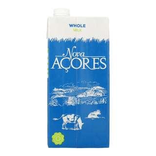 Nova Acores Whole (Full Cream) UHT Free Range Cow's Milk
