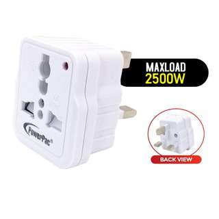 POWERPAC (PP33) 4 pcs x Universal Travel Adapter