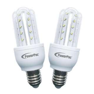 POWERPAC (PP6515) 2pcs X 5W E27 Vertex LED Bulb Daylight