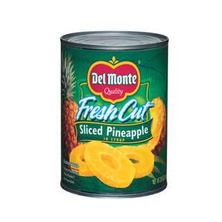 Del Monte Sliced Pineapple in Syrup