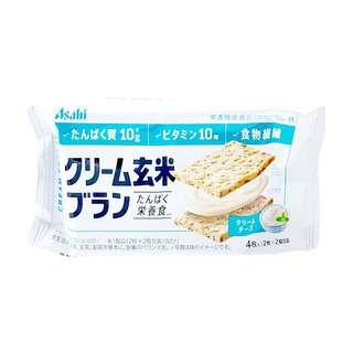 Asahi Cream Cheese Brown Rice Bran Cookie