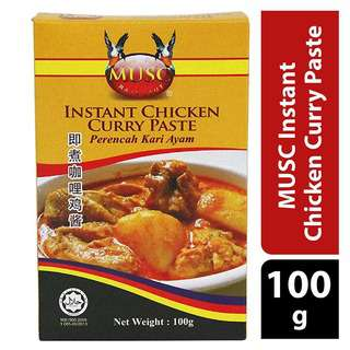 MUSC Instant Curry Chicken Paste