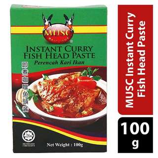 MUSC Instant Curry Fish Head Paste