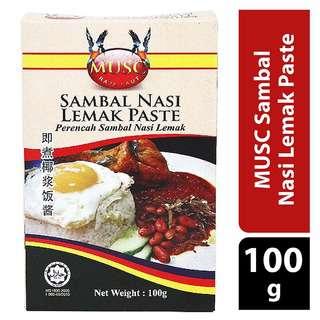 MUSC Sambal Nasi Lemak Paste