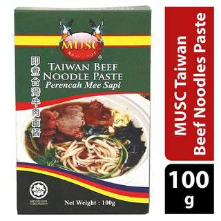MUSC Taiwan Beef Noodles Paste