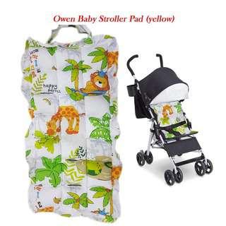 OWEN BABY BABY STROLLER PAD (YELLOW)