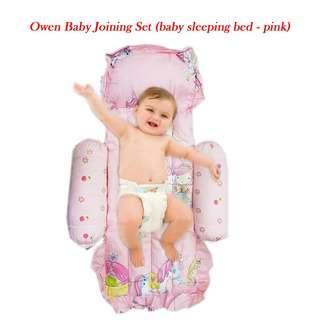 OWEN BABY JOINING SET (SLEEPING BED-PINK)