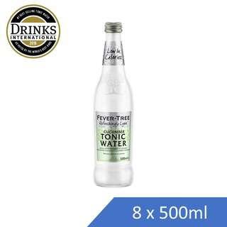 Fever Tree Refreshingly Light Cucumber-Mixer-Bottle - Case