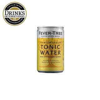 FEVER TREE INDIA TONIC WATER-CAN-CASE
