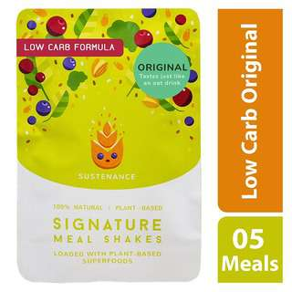 Sustenance Meal Shakes - Low Carb Original (5 meals)