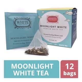 White Tea Time Moonlight White Pyramid Tea Bags
