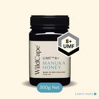 Wildcape UMF 8+ 500g