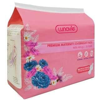 Lunavie Premium Maternity Pad - 36cm (20pcs)