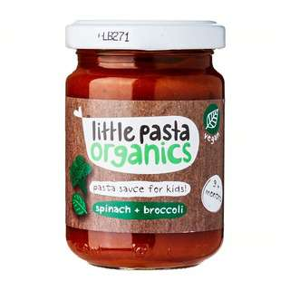 Little Pasta Organic Broccoli & Spinach Sauce
