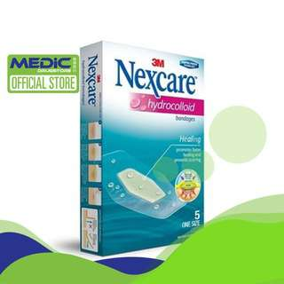 3M Nexcare Hydrocolloid Bandages 5s - By Medic Drugstore