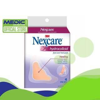 3M Nexcare Hydrocolloid Foot Care Heel Pad 4s