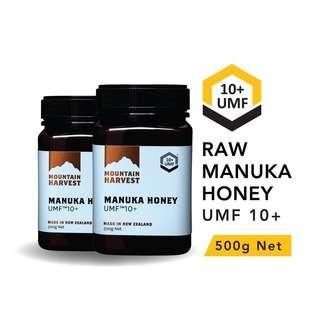 Mountain Harvest Manuka Honey UMF 10+ 500g (Bundle of 2)