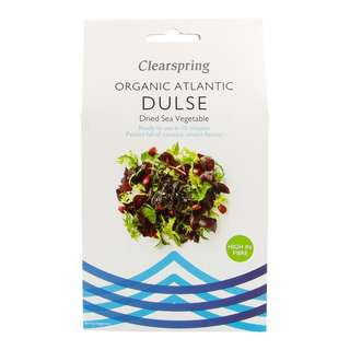 Clearspring Organic Atlantic Dulse - Dried Sea Vegetable