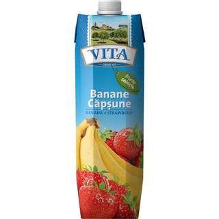 Vita Banana- Strawberry (Nectar 20 % Fruit Part)