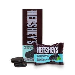 Hershey Mint Cream Sandwich Cookies
