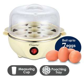 POWERPAC (PPE703) Electric Egg Steamer Multifunction Steamer