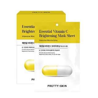 Pretty Skin Essential Vitamin C Brightening Mask Sheet