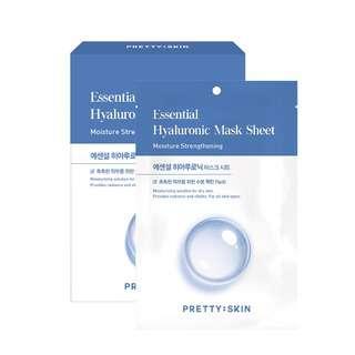 Pretty Skin Essential Hyaluronic Mask Shee