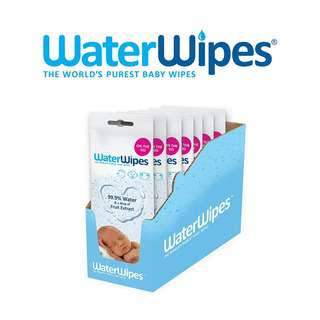 WaterWipes Baby Wipes Convenience Pack (7 packs of 28s)