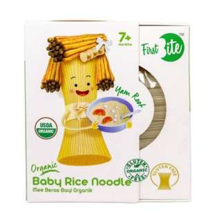 First Bite Organic Baby Rice Noodle- Yam Root 6x30-