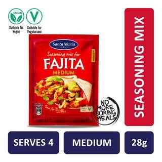 Santa Maria Tex Mex Fajita Spice Mix Original Medium