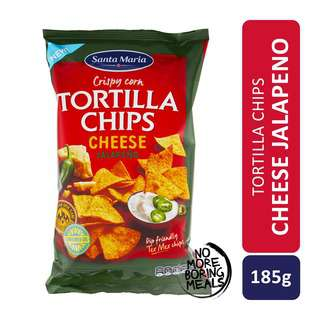 Santa Maria Tex Mex Tortilla Chips Cheese Jalapeno