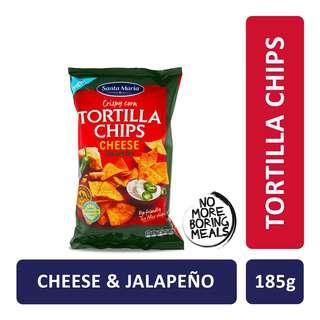 Santa Maria Tex Mex Tortilla Chips Cheese Jalapeno