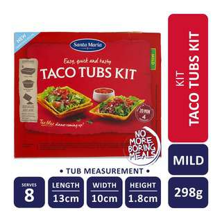 Santa Maria Tex Mex Taco Tubs Kit