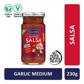 Santa Maria Tex Mex Garlic Salsa Medium