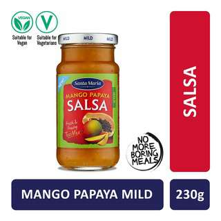 Santa Maria Tex Mex Mango Papaya Salsa Mild