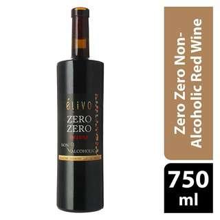 Elivo Zero Zero Non-Alcoholic Red Wine