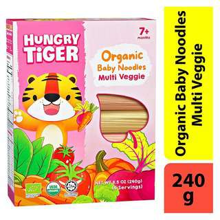 Hungry Tiger Organic Baby Noodles Multi Veggie
