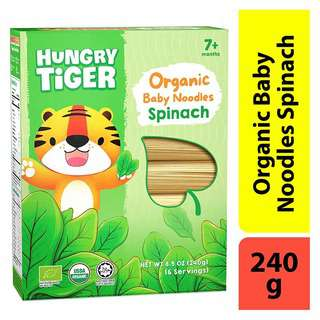 Hungry Tiger Organic Baby Noodles Spinach