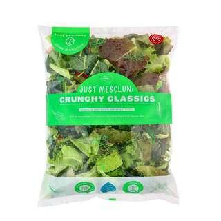 Just Produce Just Mesclun: Crunchy Classics