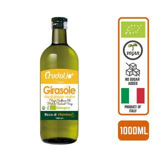 CRUDOLIO Organic Sunflower Oil 1L