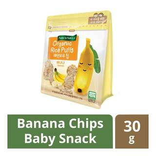 FarmToBaby Organic Rice Puff Rainbow Chip (6m) - Banana
